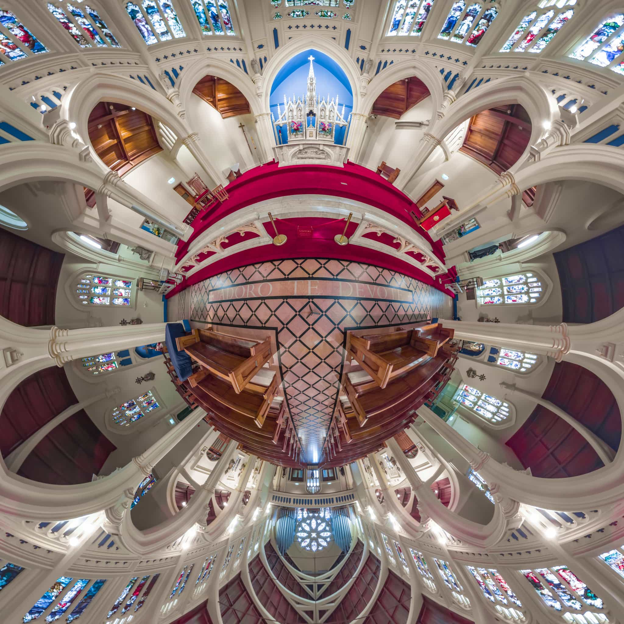 St Mary of the Angels - Planet