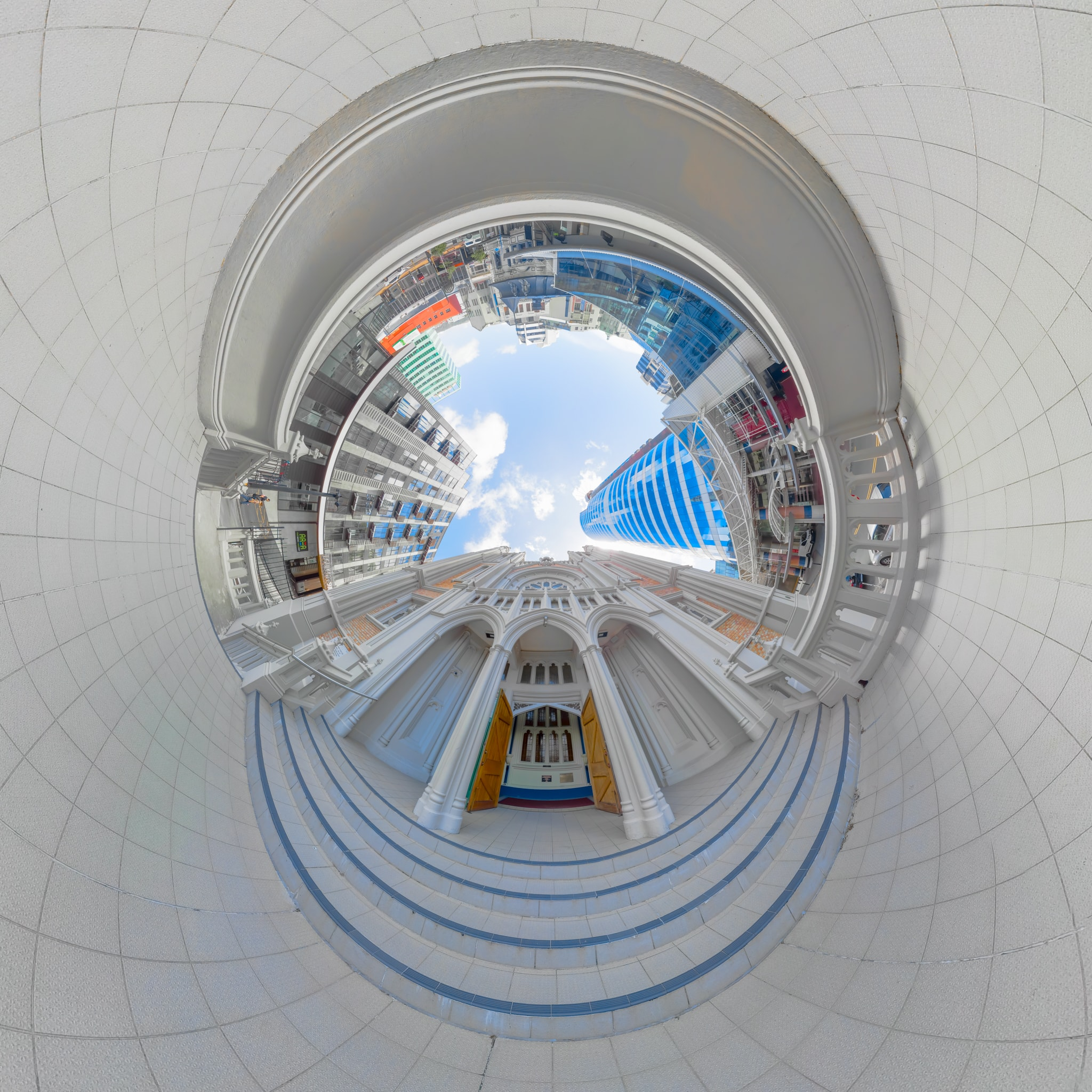 St Marys of the Angels Entrance v2 - Planet
